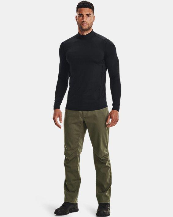 Men's UA Tactical Mock Base Long Sleeve Shirt, Black, pdpMainDesktop image number 1