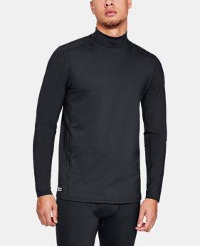Men's UA Tactical Mock Base Long Sleeve Shirt  1  Color Available $70