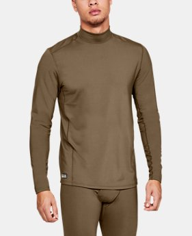 Men's UA Tactical Mock Base Long Sleeve Shirt  3  Colors Available $70