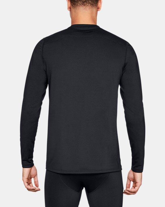 Men's UA Tactical Crew Base Long Sleeve Shirt, Black, pdpMainDesktop image number 2