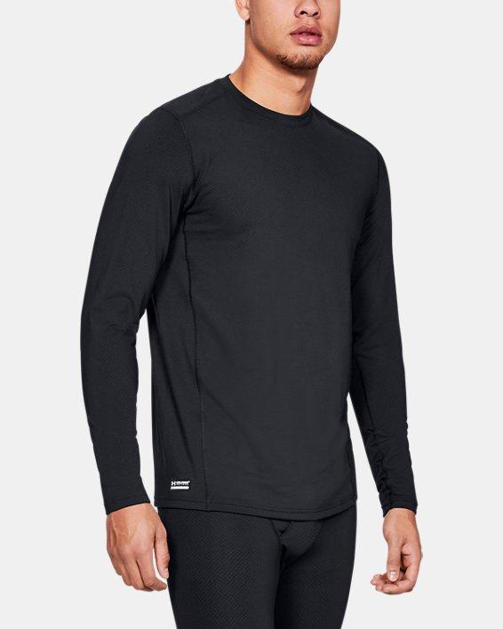 Men's UA Tactical Crew Base Long Sleeve Shirt, Black, pdpMainDesktop image number 0