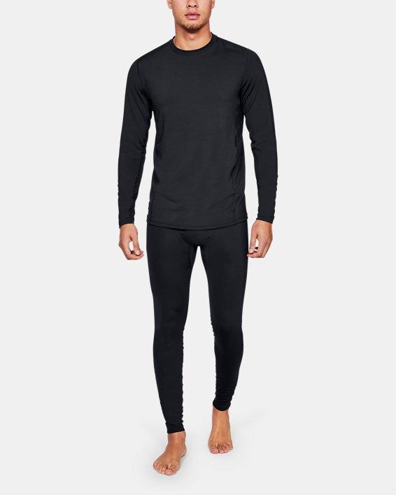 T-shirt à manches longues UA Tactical Crew Base pour homme, Black, pdpMainDesktop image number 1