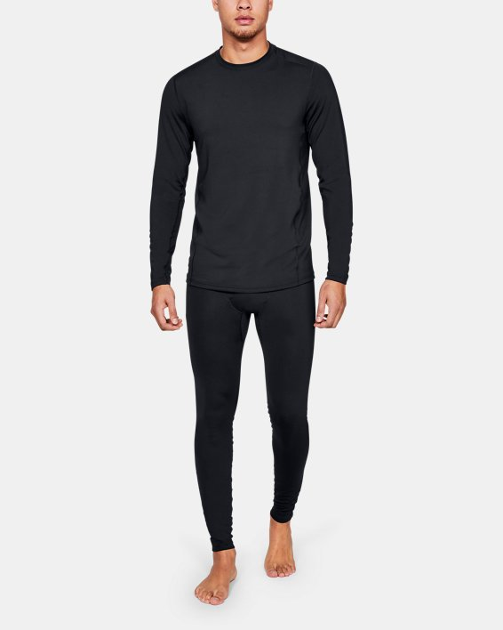 Men's UA Tactical Crew Base Long Sleeve Shirt, Black, pdpMainDesktop image number 1