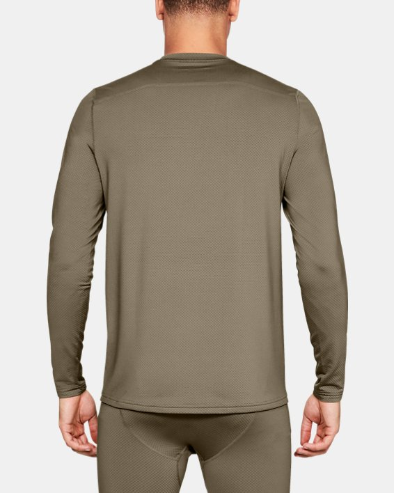 T-shirt à manches longues UA Tactical Crew Base pour homme, Brown, pdpMainDesktop image number 1