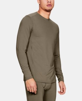 Men's UA Tactical Crew Base Long Sleeve Shirt  3  Colors Available $70