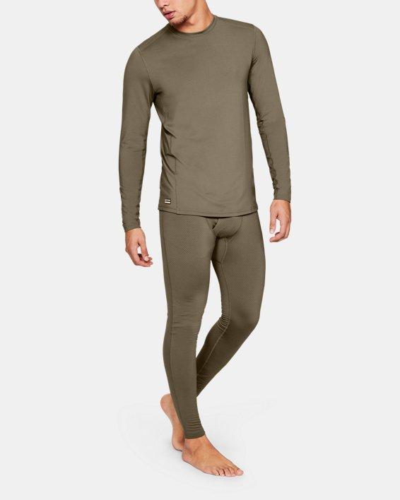 T-shirt à manches longues UA Tactical Crew Base pour homme, Brown, pdpMainDesktop image number 2