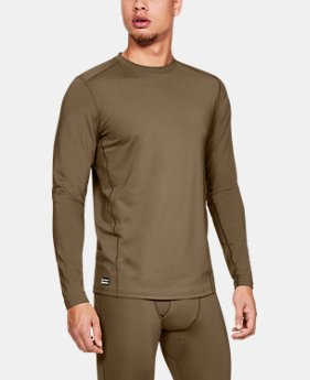 Men's UA Tactical Crew Base Long Sleeve Shirt  3  Colors Available $55