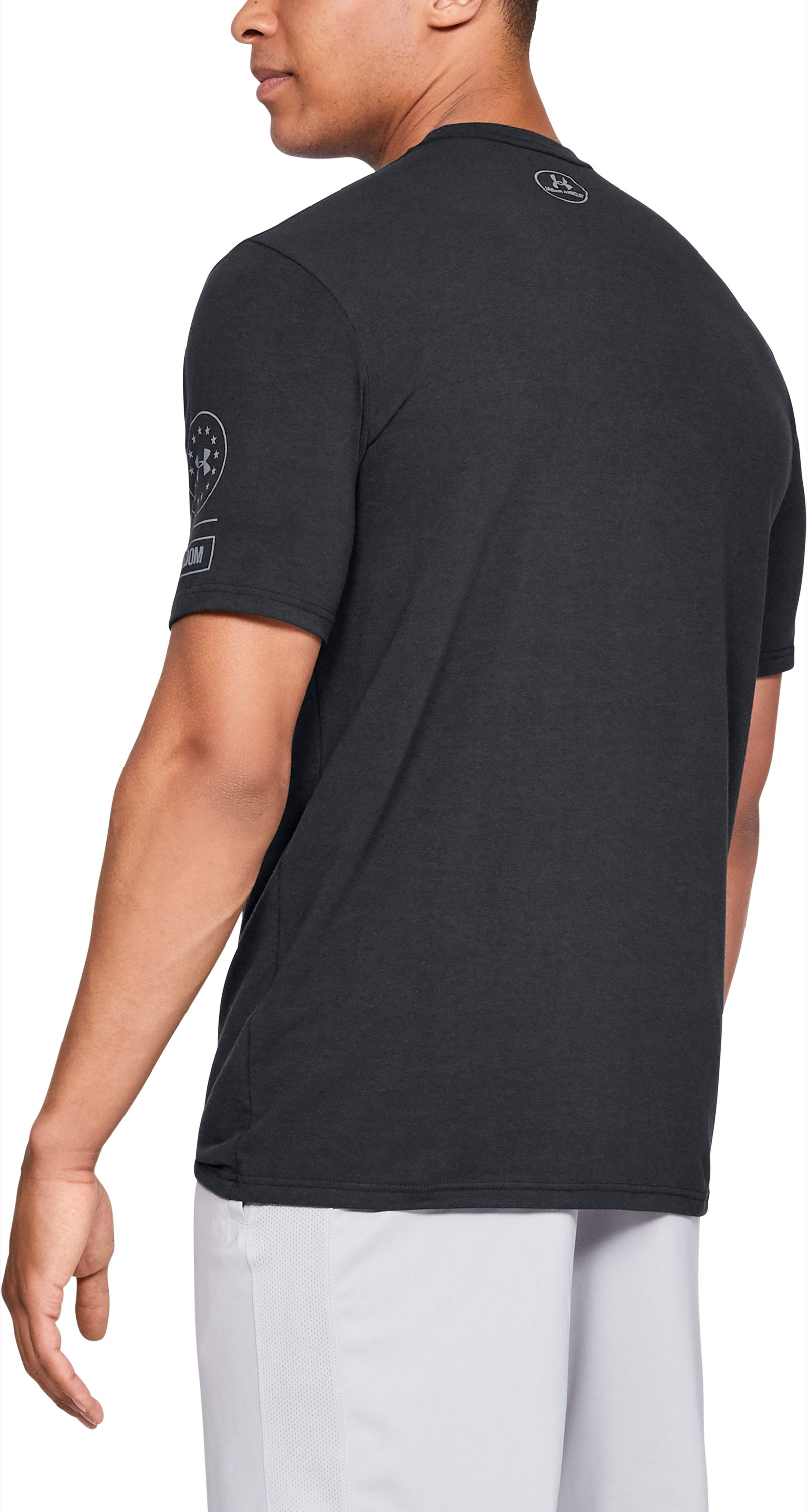 Men's UA Tac Graphic 1 T-Shirt, Black ,