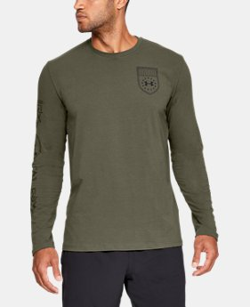 New Arrival  Men's UA Tac Graphic 2 Long Sleeve Shirt  2  Colors Available $35