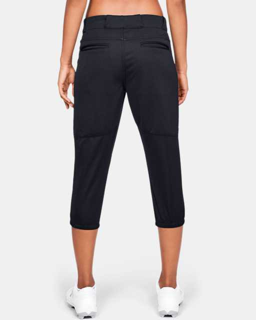 Women's UA Softball Cropped Pants