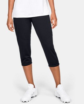 New Arrival Women's UA Softball Cropped Pants  1  Color Available $40