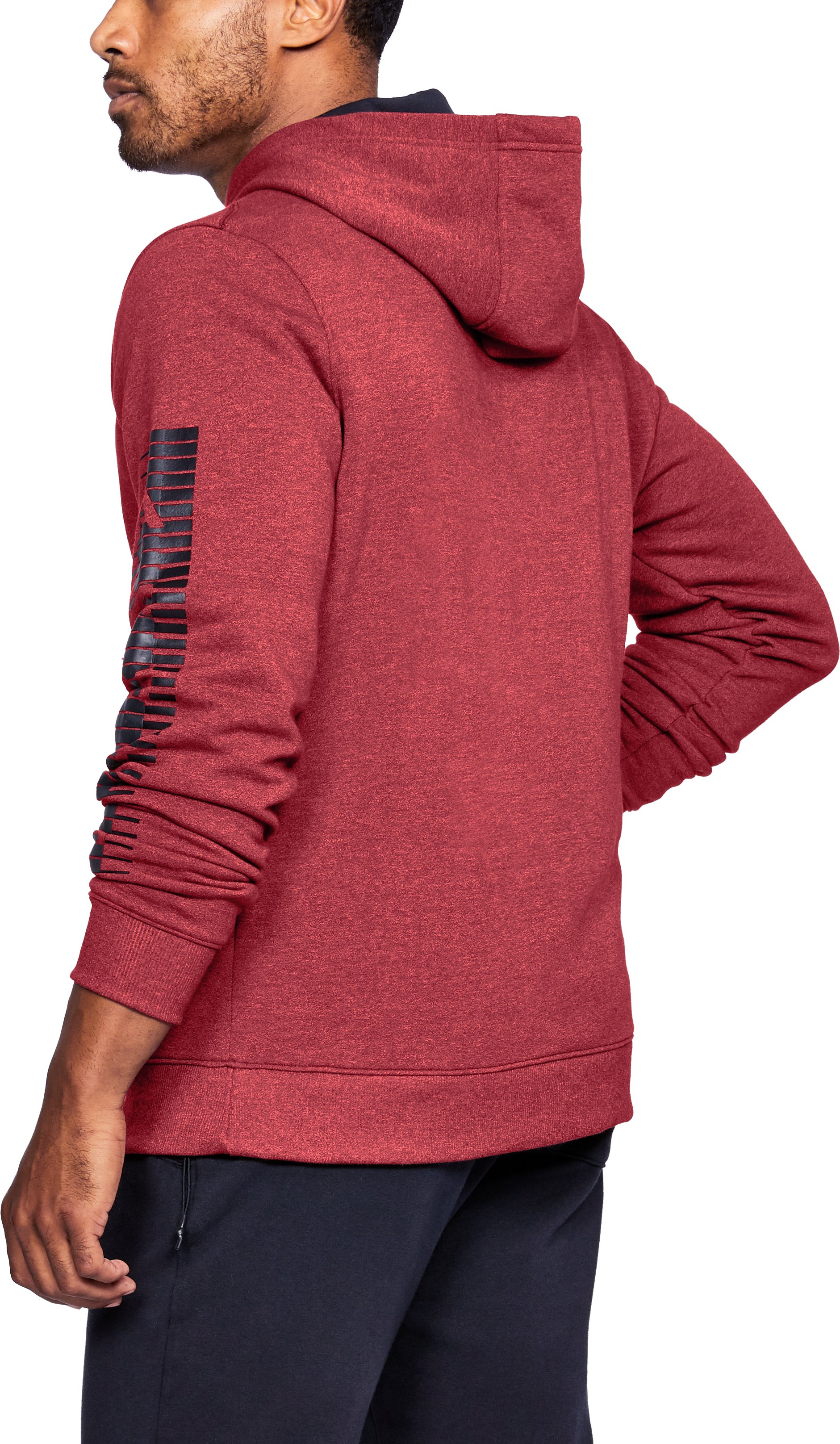 Men's UA Threadborne™ Speed Hitt Hoodie, Red,