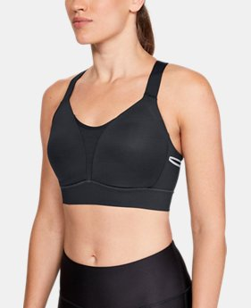 Women's UA Breathelux High Sports Bra  1  Color Available $85