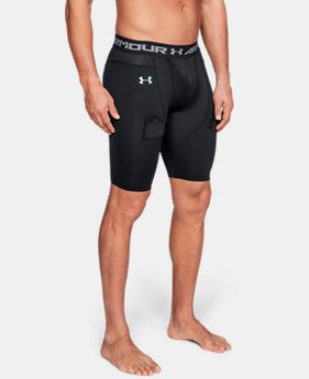 Men's UA Hockey Compression Shorts  1  Color Available $70