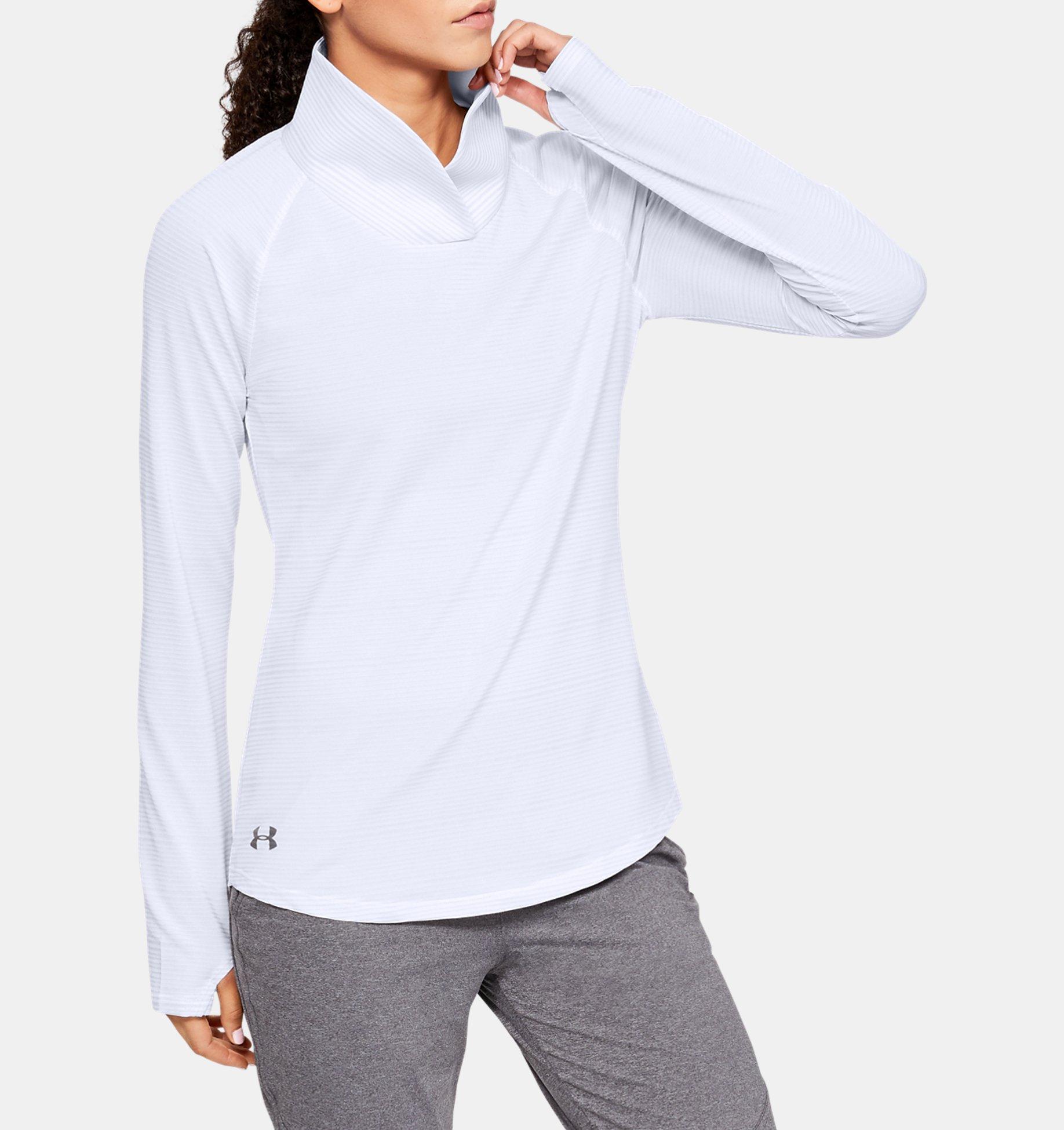 Women's UA Zinger Pullover, White, pdpZoomDesktop image number 0