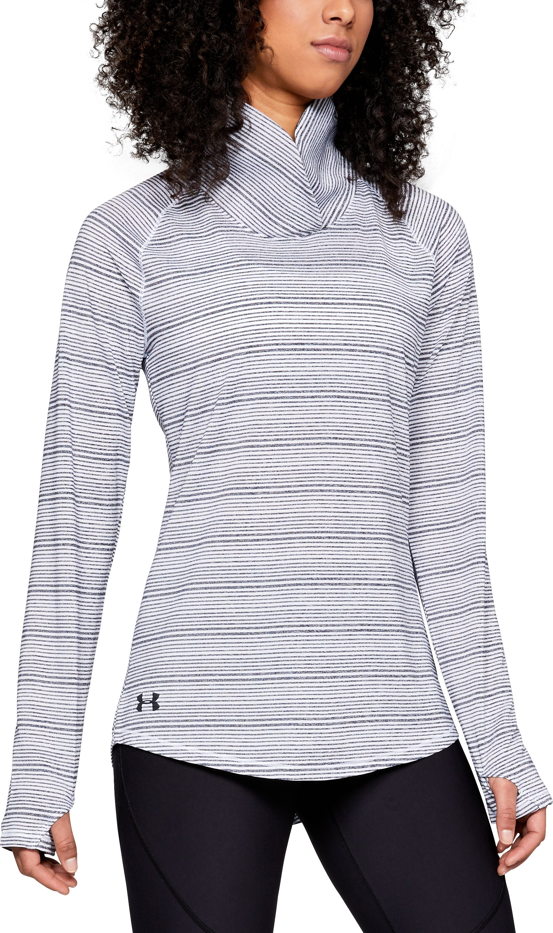 Women's UA Zinger Pullover, Midnight Navy,