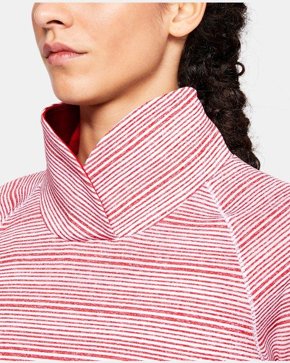 Women's UA Zinger Pullover, Red, pdpMainDesktop image number 5