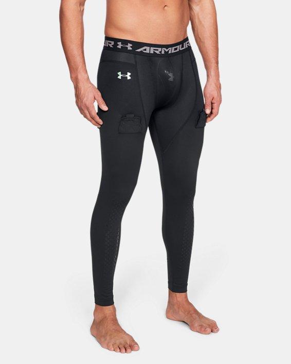 Men's UA Hockey Compression Leggings, Black, pdpMainDesktop image number 0