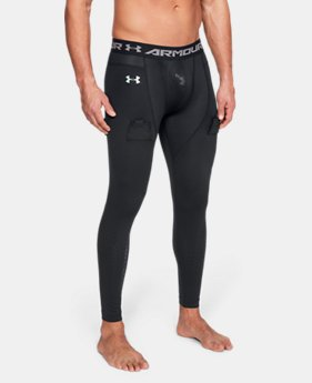 Men's UA Hockey Compression Leggings  1  Color Available $75