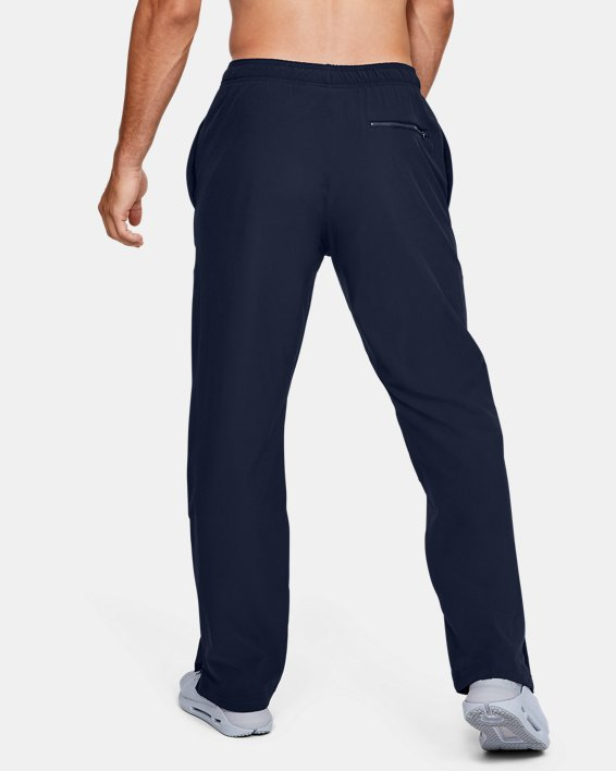 Men's UA Hockey Warm Up Pants, Navy, pdpMainDesktop image number 2