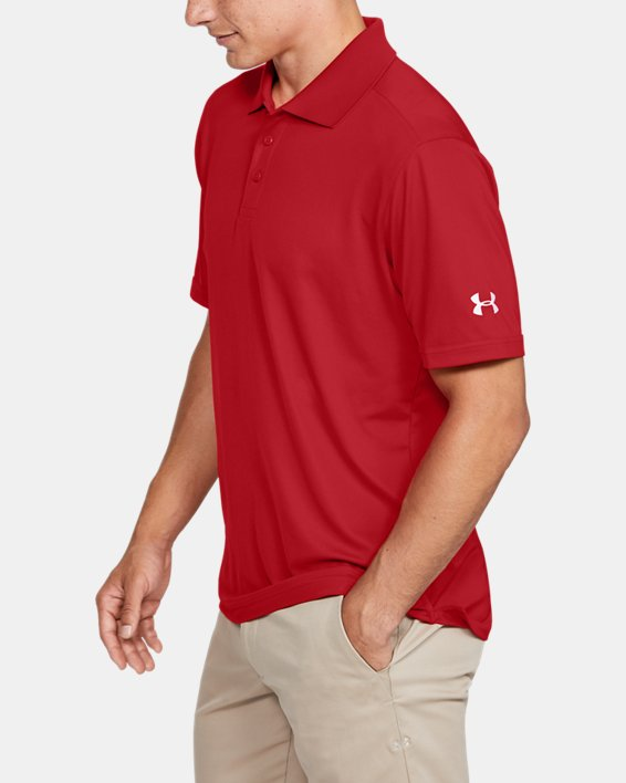 Men's UA Performance Corp Polo, Red, pdpMainDesktop image number 3