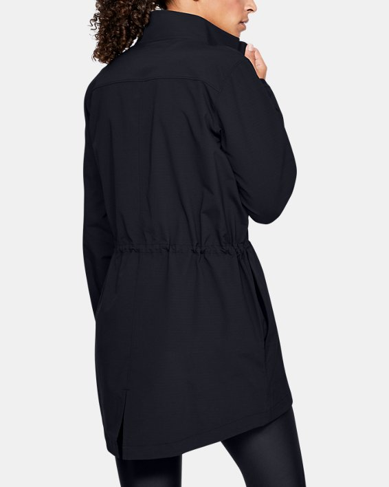 Women's UA Windstrike Jacket, Black, pdpMainDesktop image number 0
