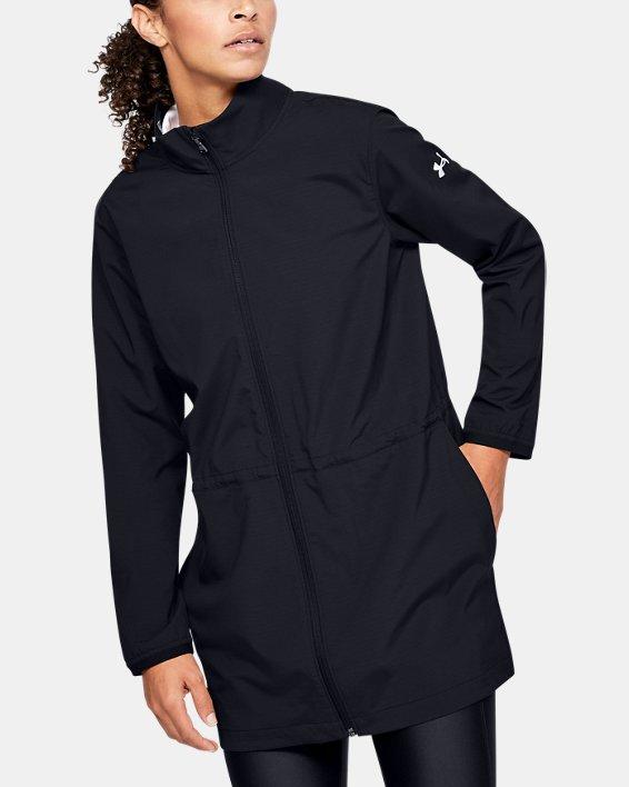 Women's UA Windstrike Jacket, Black, pdpMainDesktop image number 2
