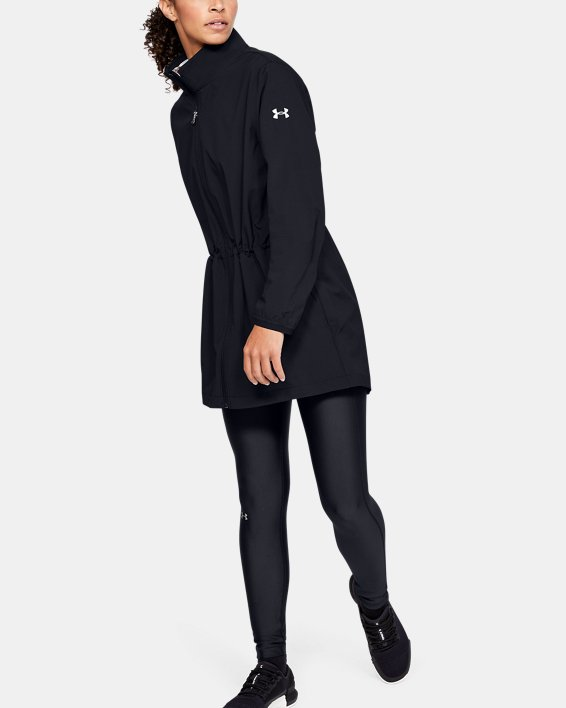 Women's UA Windstrike Jacket, Black, pdpMainDesktop image number 1