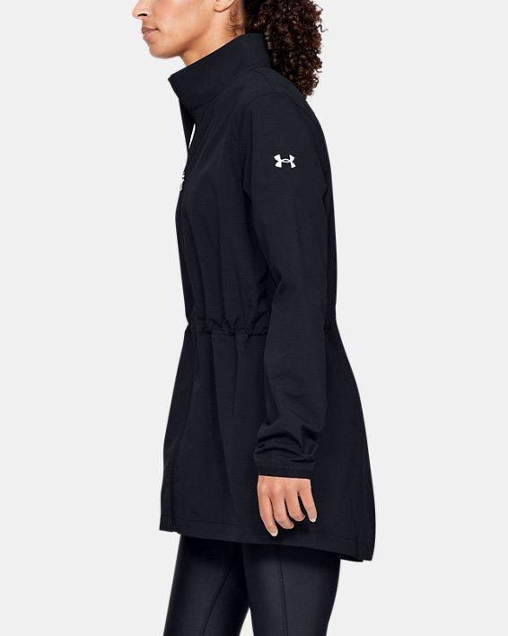 Women's UA Windstrike Jacket, Black, pdpMainDesktop image number 3