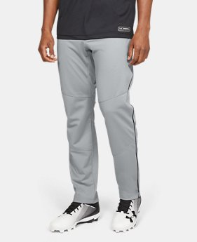 Men's UA Ace Relaxed Piped Baseball Pants  1  Color Available $45