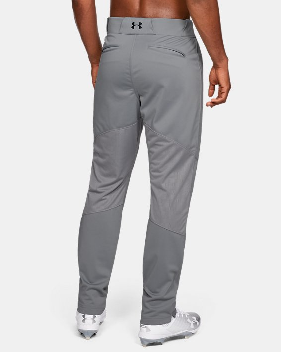 Men's UA Ace Relaxed Baseball Pants, Gray, pdpMainDesktop image number 2