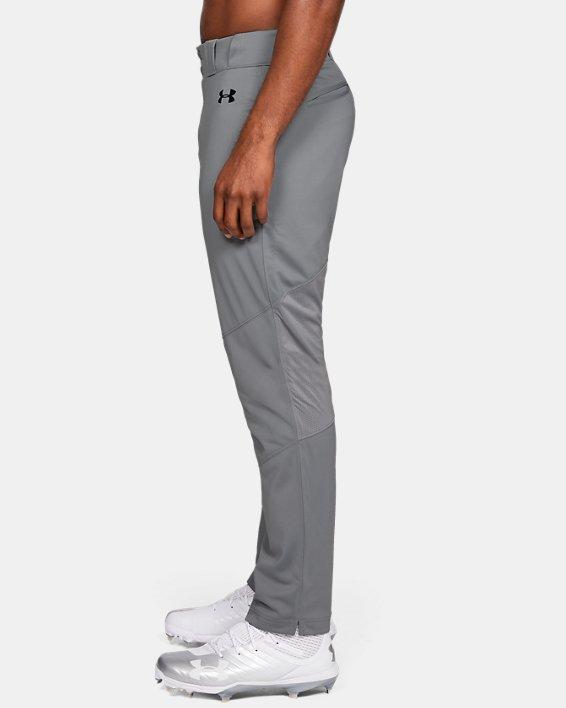 Men's UA Ace Relaxed Baseball Pants, Gray, pdpMainDesktop image number 3