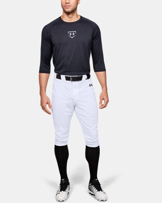 Men's UA Ace Knicker Pants, White, pdpMainDesktop image number 1