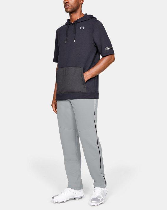 Men's UA Utility Relaxed Piped Baseball Pants, Gray, pdpMainDesktop image number 1