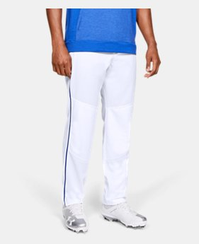 Men's UA Utility Relaxed Piped Baseball Pants  1  Color Available $35