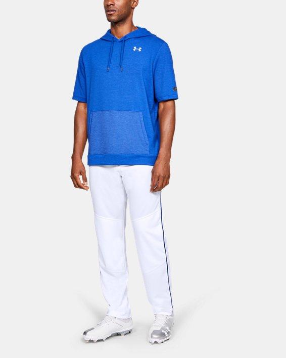 Men's UA Utility Relaxed Piped Baseball Pants, White, pdpMainDesktop image number 1
