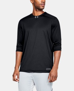 New Arrival Men's UA Utility ¾ Shirt  1  Color Available $40