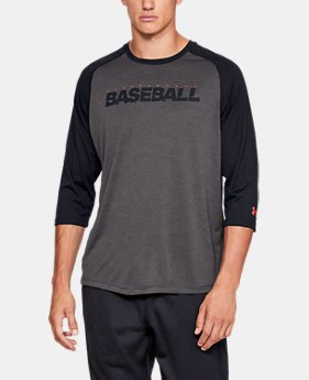Men's UA Bullpen ¾ Shirt  3  Colors Available $45