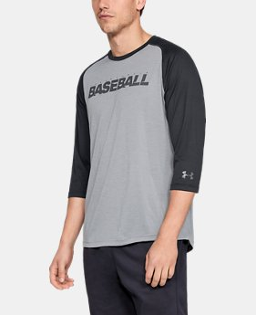 Men's UA Bullpen ¾ Shirt  3  Colors Available $35
