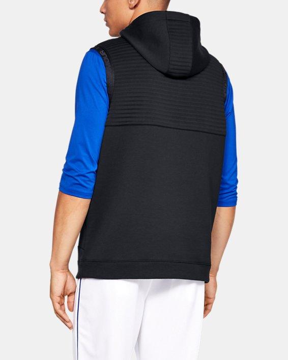 Men's UA Ace Cage Vest, Black, pdpMainDesktop image number 2