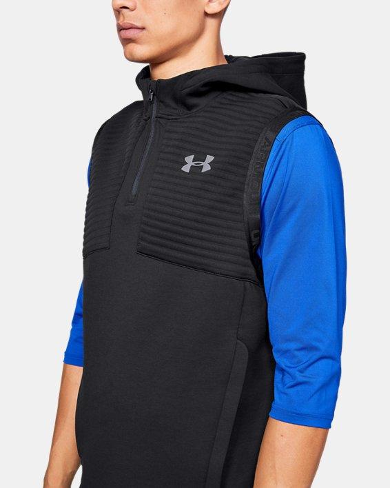 Men's UA Ace Cage Vest, Black, pdpMainDesktop image number 6