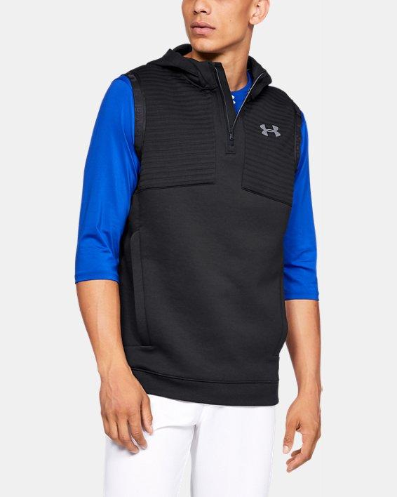 Men's UA Ace Cage Vest, Black, pdpMainDesktop image number 0