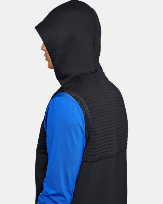 Men's UA Ace Cage Vest, Black, pdpMainDesktop image number 7
