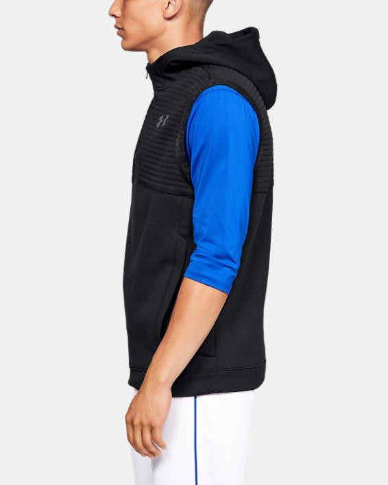 Men's UA Ace Cage Vest, Black, pdpMainDesktop image number 3
