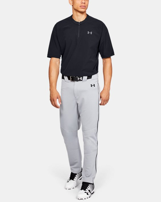 Men's UA Utility Short Sleeve Cage Jacket, Black, pdpMainDesktop image number 1