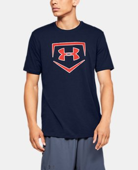 New Arrival Men's UA Plate Icon Short Sleeve Shirt  4  Colors Available $25