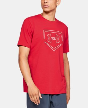 New Arrival Men's UA Plate Icon Short Sleeve Shirt   $25