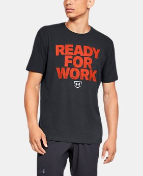 New Arrival  Men's UA Ready4Work Short Sleeve Shirt  1  Color Available $30