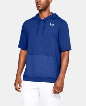 Men's UA Bullpen Short Sleeve Hoodie  3  Colors Available $55