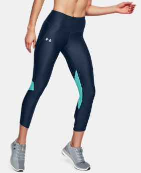 Women's UA Armour Fly Fast Crop FREE U.S. SHIPPING 4  Colors Available $55